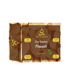 Yogabites Dry Roasted Peanuts-25ge(Pack of 8)