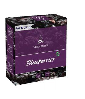 Yogabites Dry Roasted Blueberries -25ge Pack of 8