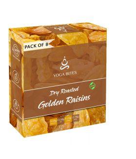 Yogabites Golden Raisins Raisins -25ge Pack of 8