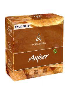 Yogabites Dry Roasted Anjeer-25ge Pack of 8