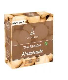 Yogabites Dry Roasted -Hazelnuts-25ge Pack of 8