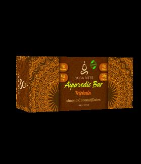 Ayurveda Bars - Triphala ,Almond ,Medjool Dates, Coconut, Flax, Pumpkin-60 gm