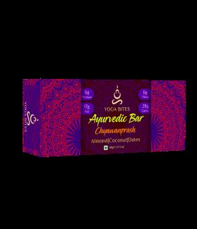 Ayurveda Bars - Chyawanprash ,Almond ,Medjool Dates, Coconut, Flax, Pumpkin-60 gm