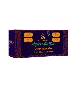 Ayurveda Bars - 21 Nuts, Seeds, Berries with Ashwagandha - 60 gm