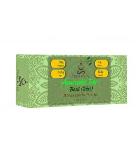 Ayurveda Bars - 21 Nuts ,Seeds,Berries with Basil-60 gm