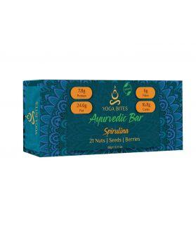 Ayurveda Bars - 21 Nuts , Seeds , Berries with Spirulina-60 gm