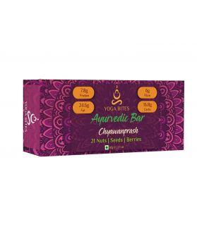 YOGABITES- Ayurveda Bars - 21 Nuts , Seeds , Berries with Chyawanprash-60 gm
