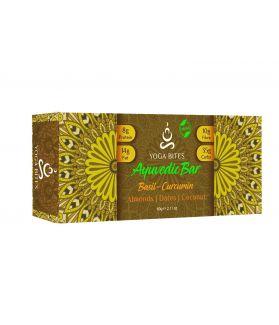 Ayurveda Bars - Basil,Curcumin with Piperine ,Almond ,Medjool Dates, Coconut, Flax, Pumpkin-60 ge
